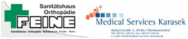 Medical-Services-Karasek-Sanitaetshaus-Orthopadie-Feine